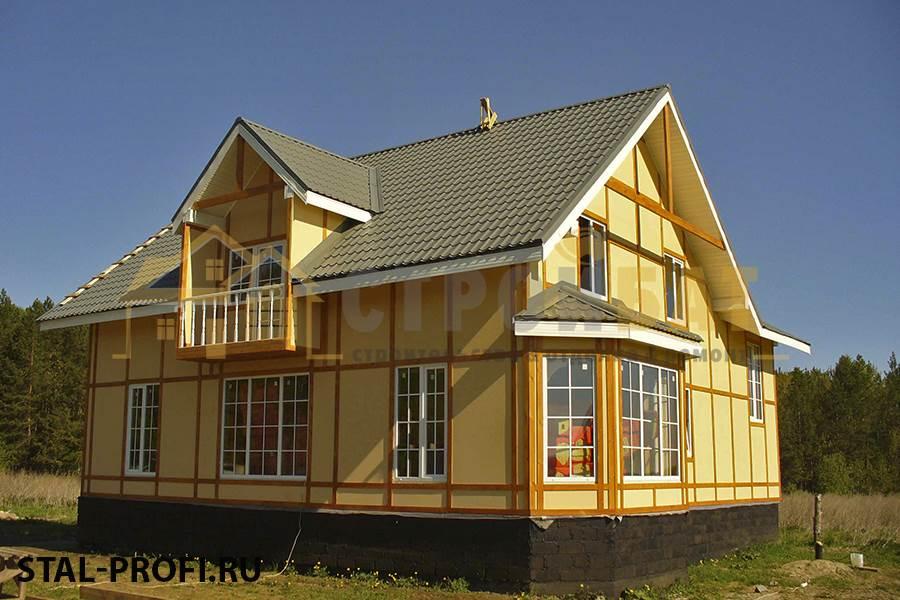 Foto Stalprofi Portfolio Stroitelstvo Domov 4