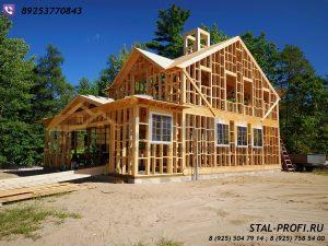 Каркасная конструкция Вашего дома-идеальное решение для загородного поместья.