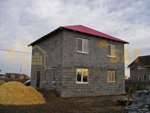 Дома из блоков.